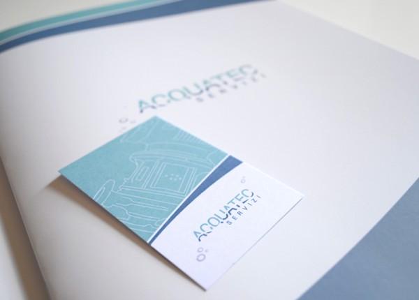 Brochure e biglietto da visita
