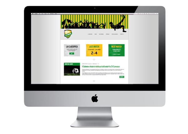 Sito web per squadra di calcio