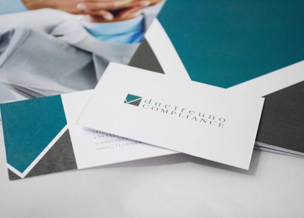 Brochure e Biglietto da Visita Avvocato