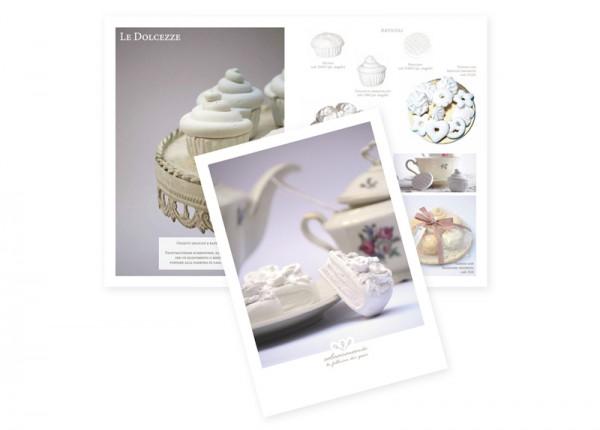 Brochure e foto Bomboniere in gesso