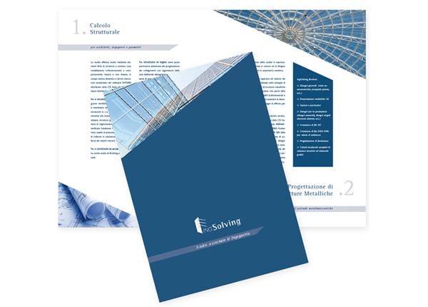Brochure per Studio di Ingegneria