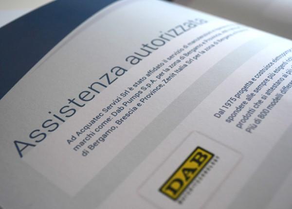 Dettaglio Grafica Brochure