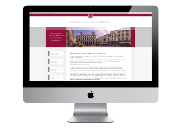 Realizzazione sito web avvocato