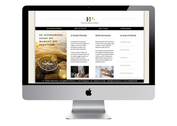 Realizzazione sito web Notaio a Bergamo