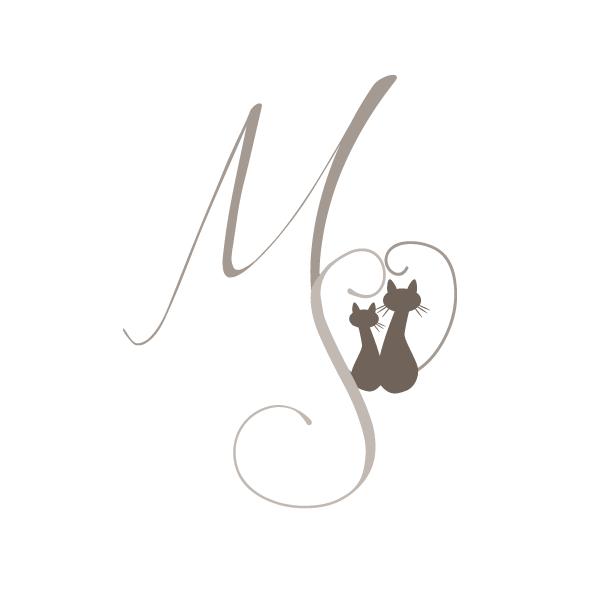 Matrimonio Tema Gatti : Logo matrimonio con gatti cacao comunicazione
